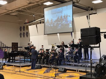 Jazz Ensemble Brings Home Grand Championship
