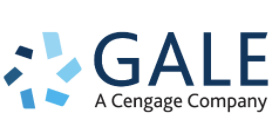 Gale, A Cengage Company icon with circle in alternating shades of blue