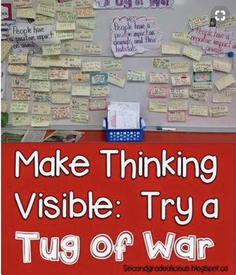 Visual Thinking Tug Of War