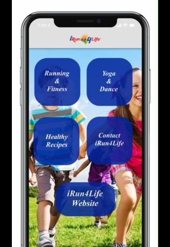 iRun4Life Fitness App