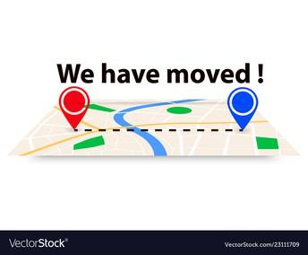 REMINDER - WE MOVED!!