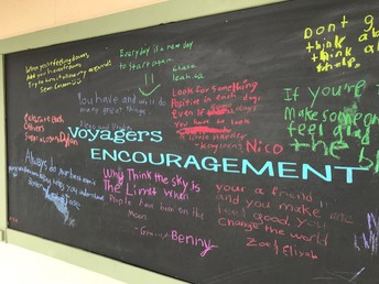 Voyager Encouragement Wall