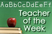 Teacher of the Week Nominations
