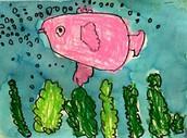 Preschool Fish Drawings