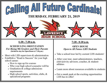 Future Cardinals Open House