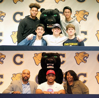 Student-Athletes Max Brown, Marcus Winfield Sign National Letters of Intent