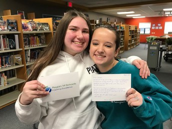 Casey and Emily, Thank you from BOE