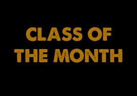CONGRATULATIONS to our PBIS Classes of the Month for APRIL!