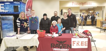 Wrapping Paper Station in Eagle River