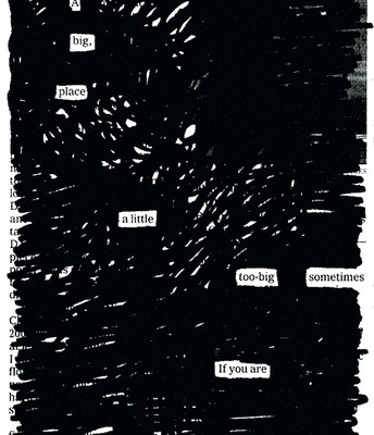 By Blackout Poetry Master: Austin Kleon