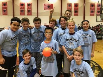 6th Grade Dodgeball Champions!