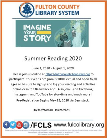Fulton County Summer Reading Program