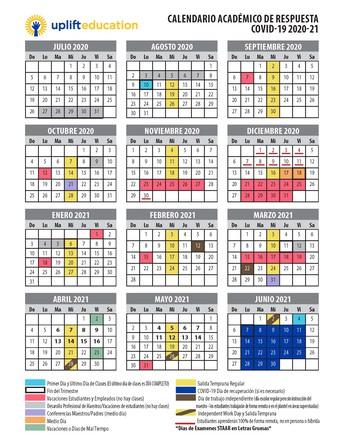 Calendario Para Padres Actualizado