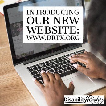 New Website for Disability Rights Texas