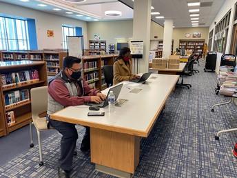 Biblioteca: Lunes, Martes, Jueves y Viernes (12:30 -1:30)