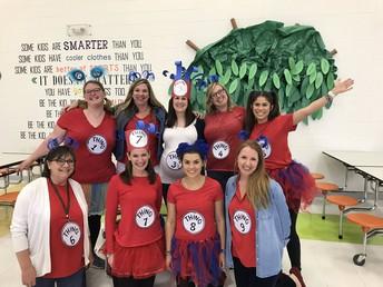 Fun Things! Even Teachers Enjoyed Read Across America Week!