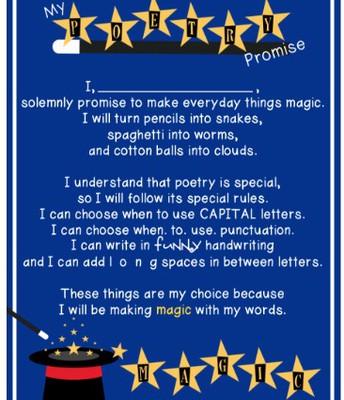 Make a Poetry Promise!