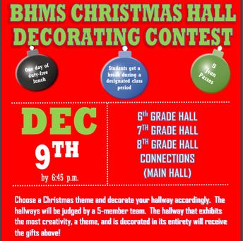 Christmas Hall Wars!!