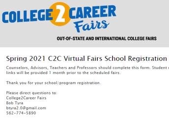 College2Career Fairs