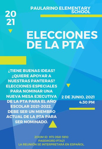 Elecciones de la Mesa Ejecutiva de la PTA
