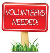 Still time to volunteer