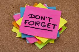 REMINDERS - Masks, Jackets, and Report Cards!
