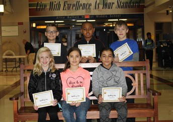 5th Grade Top Spellers