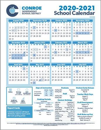 CISD Approves 2020-2021 School Calendar