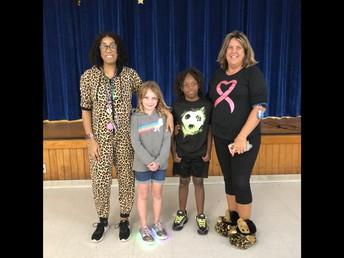 Second Grade Math Bee Winners