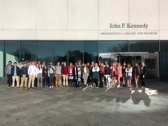Field Trip to JFK Presidential Library