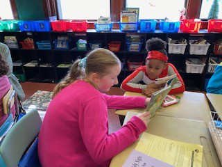 Grade 2 & 5 Buddy Reading
