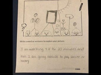 Kindergarten is learning about Media Balance