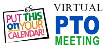 PTO ZOOM MEETING - 10/12/2020 9:15AM