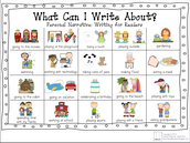 Kindergarten Narrative Writing