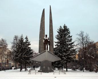Памятник Ростиславу Алексееву