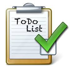 clipart to do list