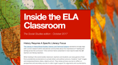 Social Studies and ELA Newsletter