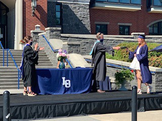 Photo of LOHS graduation ceremony