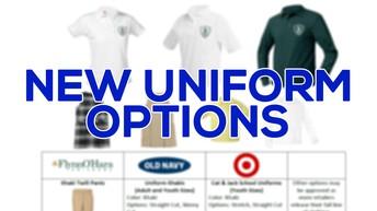 New Uniform Options