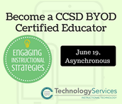 Become a CCSD BYOD Certified Educator