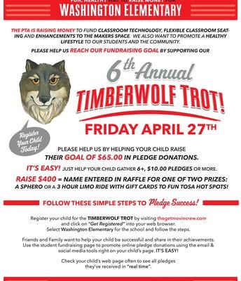 Timberwolf Trot