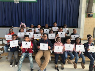 3-5 scholars were celebrated for following our F.I.R.E expectations.
