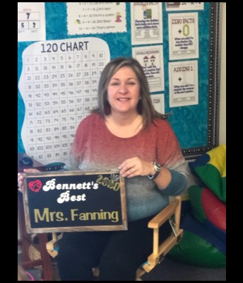 Tracy Fanning     Bennett's Best Recipient