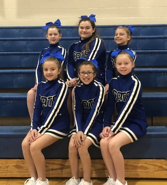 B-Team Cheerleaders