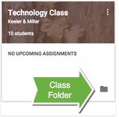 View Classroom Folder