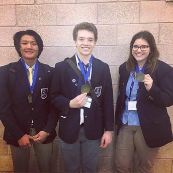 DECA District Competition Results