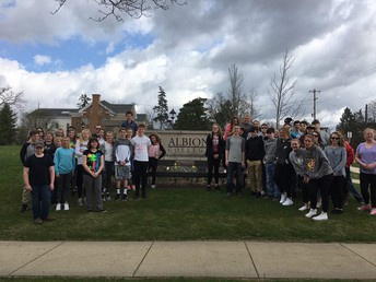 Junior High Students at Albion College
