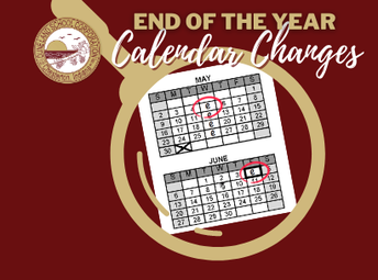 DSC 2020-2021 Calendar Change