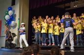 Falcon Choir at KISD Health Fair