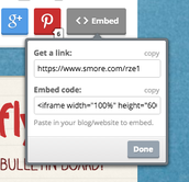 Embed your Smore Flyer